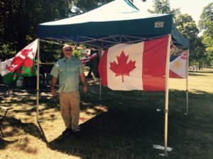 Terry from Mr. Locksmith Vancouver Canada Day 2015.