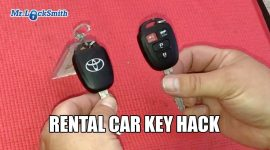 How To Separate Rental Car Keys #1| Mr. Locksmith blog